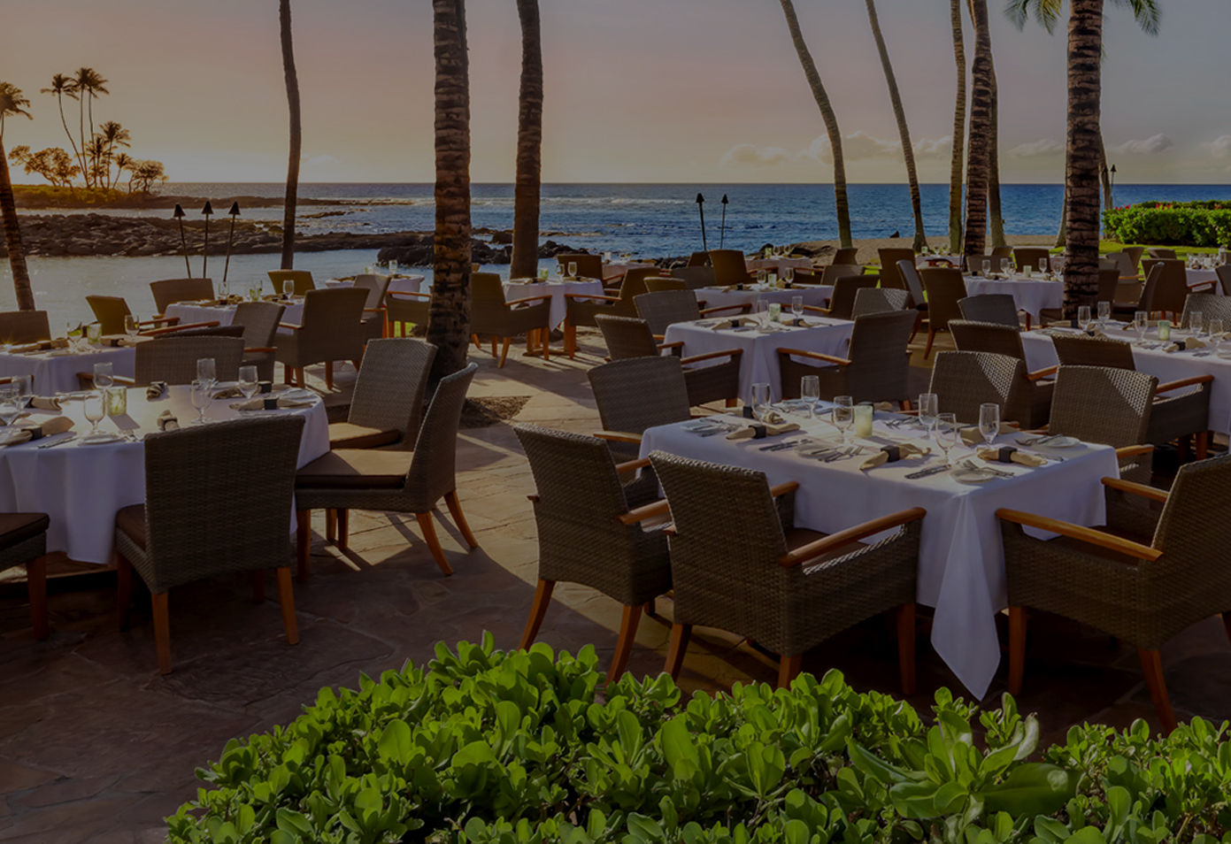 Oceanfront Dining at Browns Beach House | Fairmont Orchid