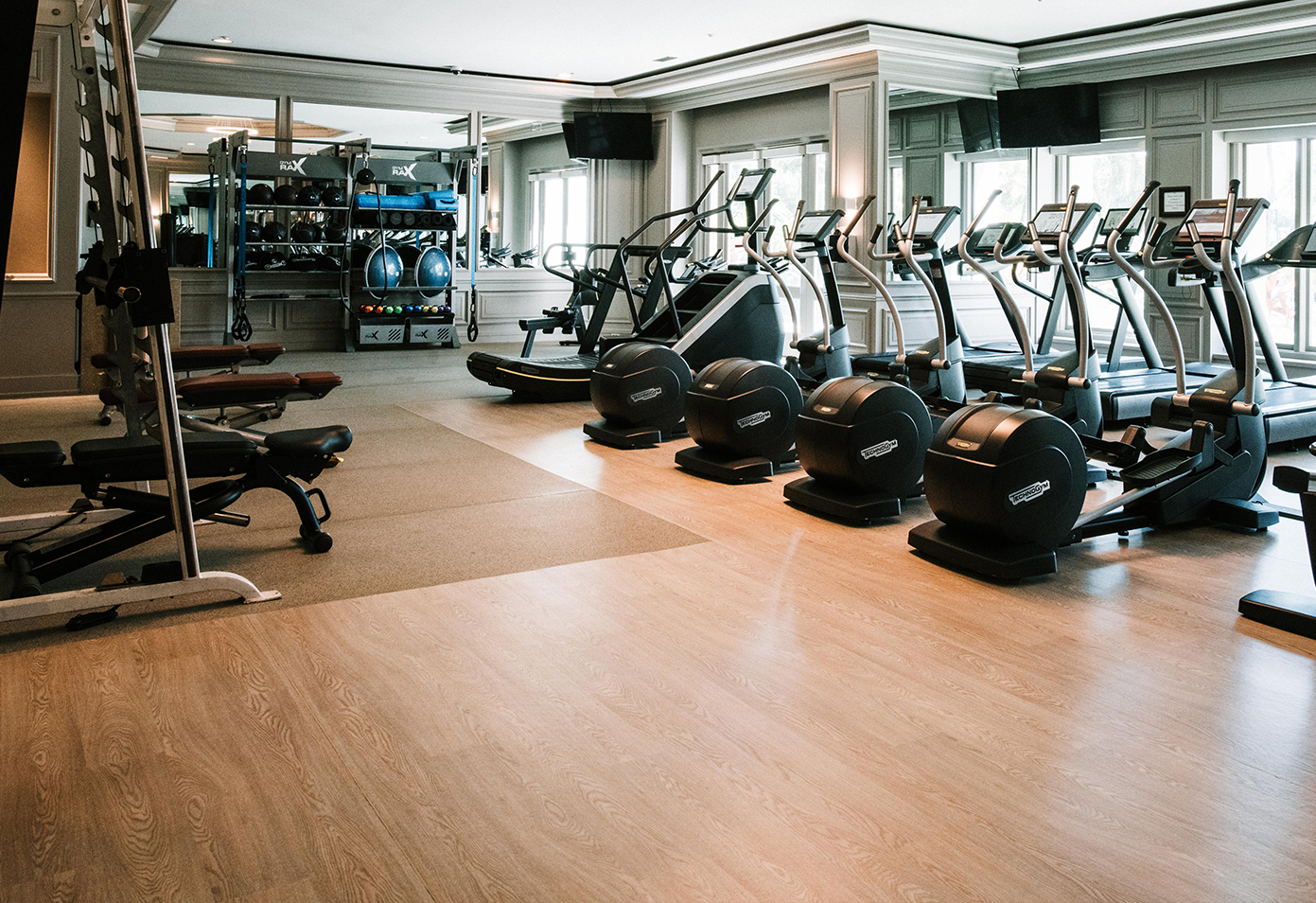 Fitness Center. Fairmont Orchid, Hawaii
