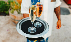Champagne, Fairmont Orchid, Hawaii